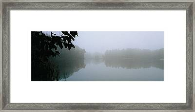 Clarity Shining Through Framed Print by Tom Hefko