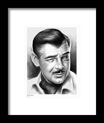 Clark Gable Framed Prints