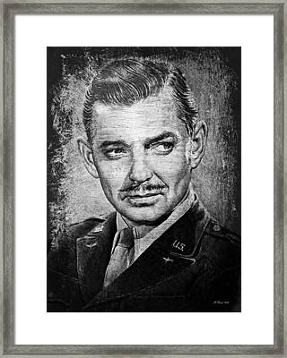 Clark Gable Framed Print by Andrew Read