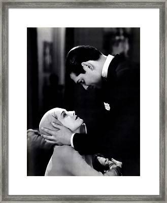 Clark Gable In A Free Soul Framed Print