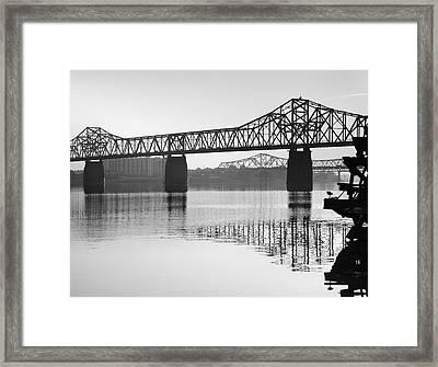 Clark Memorial Bridge I Framed Print by Steven Ainsworth