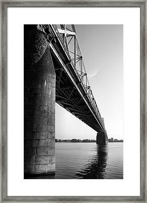 Clark Memorial Bridge II Framed Print