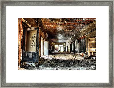 Clark School 26 Framed Print