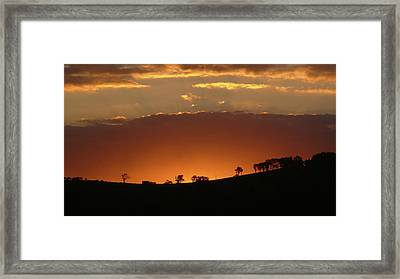 Clarkes Road II Framed Print by Evelyn Tambour