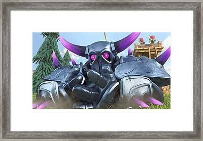 Clash Of Clans Hack Framed Print by Coc Hack