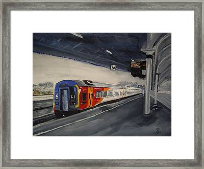 Class 159 Bristol Temple Meads Framed Print by Carole Robins
