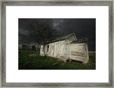 Class Dismissed Framed Print by Brian Gustafson