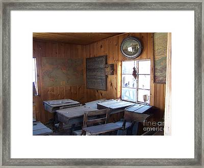 Class Dismissed Framed Print by Thought Creep