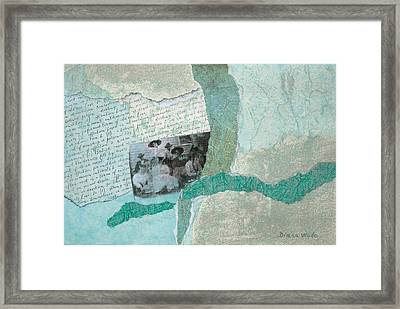 Class Of 1908 Framed Print by Diana Wade