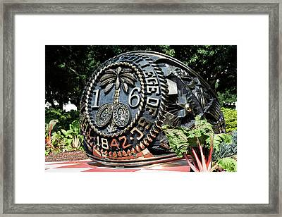 Class Ring Framed Print by Ed Waldrop