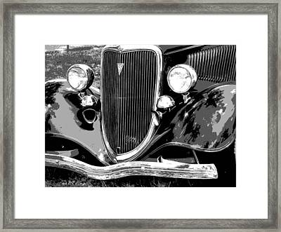 Classic 2 Framed Print by Audrey Venute