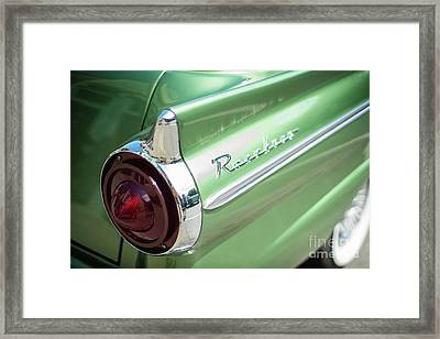Classic 50s Ford Ranchero Framed Print by Mike Reid