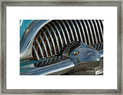 Classic American Car Bumper Framed Print by Sami Sarkis