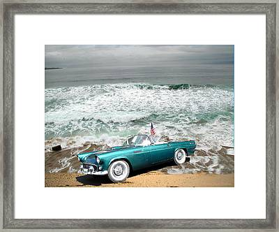 Classic Beauty At Asilomar Framed Print by Joyce Dickens
