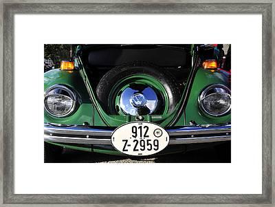 Classic Beetle Framed Print