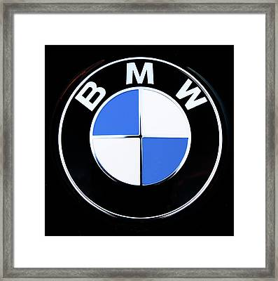 Classic Bmw Framed Print