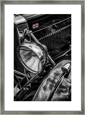 Classic Britsh Mg Framed Print