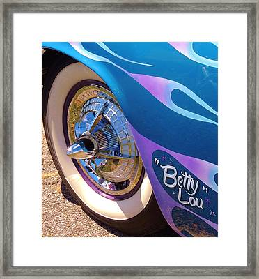 Classic Car Betty Lou Framed Print