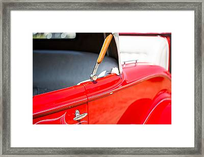Classic Car Detail 2 Framed Print by Gestalt Imagery