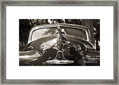 Classic Car Detail - Dodge 1948 Framed Print