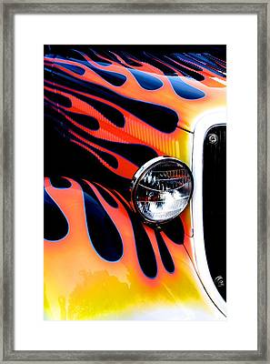Classic Car Paint Upgrade Framed Print