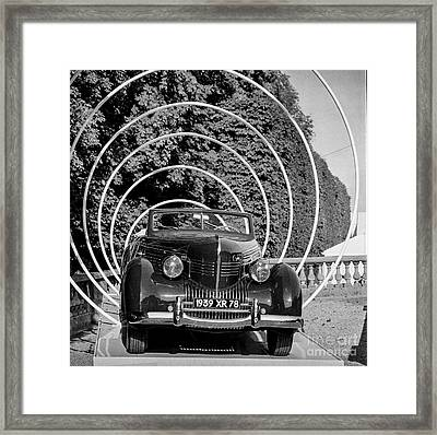Classic Cars And The Collections  Framed Print by Cyril Jayant