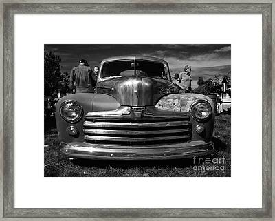 Classic Cars - Ford Front End Framed Print by Jason Freedman