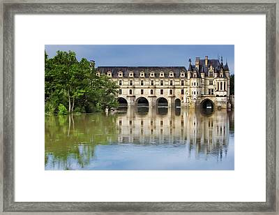 Classic Chenonceau Framed Print