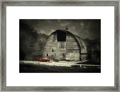 Classic Chevrolet  Framed Print by Julie Hamilton