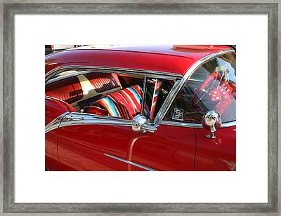 Classic Chevy Framed Print by Carl Purcell