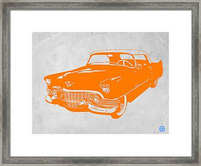 Classic Chevy Framed Print by Naxart Studio
