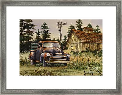 Classic Country Framed Print by James Williamson