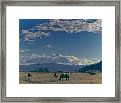 Classic Country Scene Framed Print