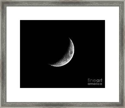 Classic Crescent Cropped Framed Print