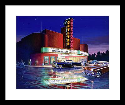 Robby The Robot Paintings Framed Prints
