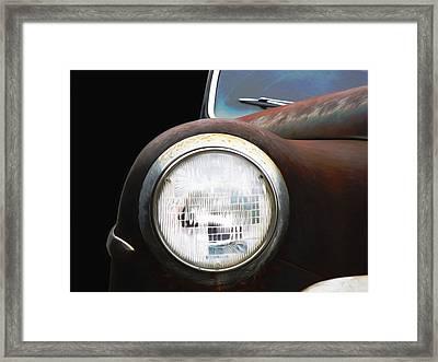 Classic Dodge Car Framed Print by Steven Michael
