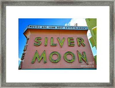 Classic Drive Inn Movie Marquee Framed Print by David Lee Thompson