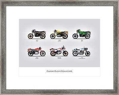 Classic Ducati Collection Framed Print