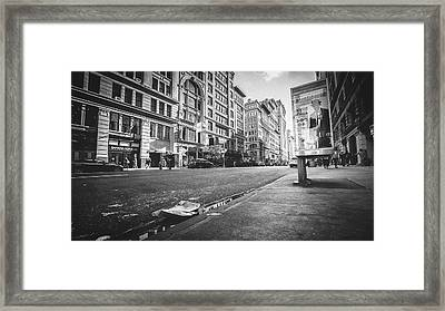 Classic During My Time Framed Print