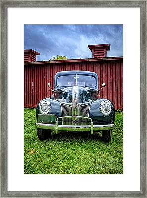Classic Ford Canterbury Shaker Village Framed Print by Edward Fielding