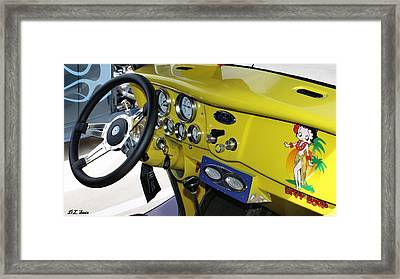 Classic Ford Framed Print by Dennis Stein
