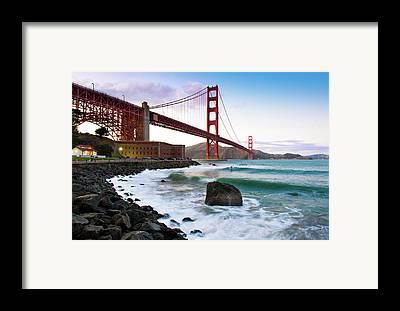 San Francisco Framed Prints