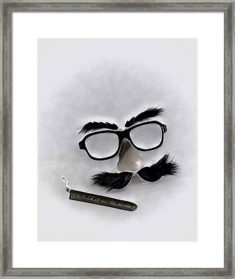 Classic Groucho Framed Print