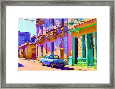 Classic Havana Framed Print