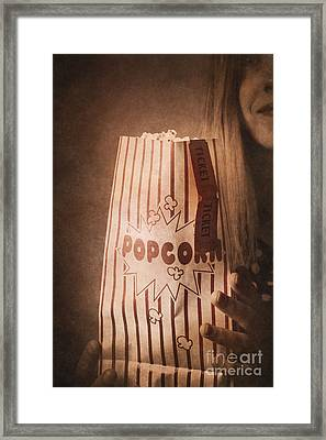 Framed Print featuring the photograph Classic Hollywood Flicks by Jorgo Photography - Wall Art Gallery