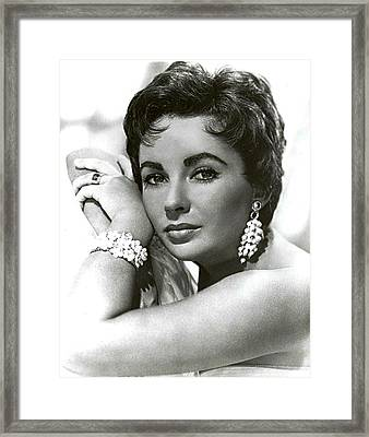 Classic Liz Framed Print