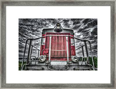 Classic Locomotive Framed Print by Spencer McDonald