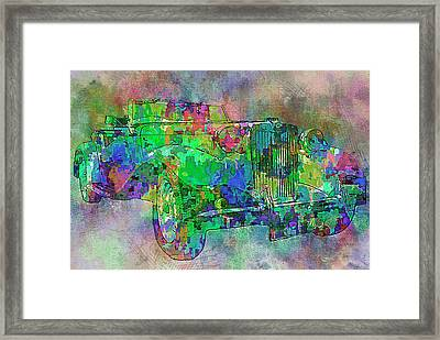 Classic M G 3 Framed Print by Jack Zulli