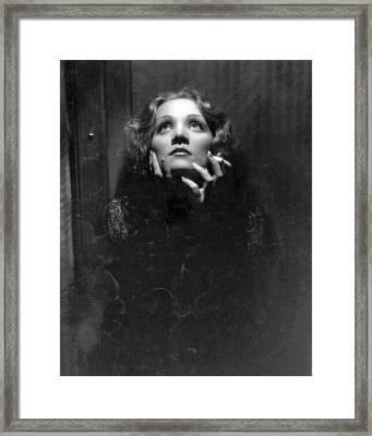 Classic Marlene Framed Print