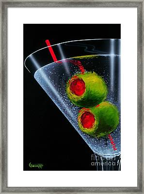 Classic Martini Framed Print by Michael Godard